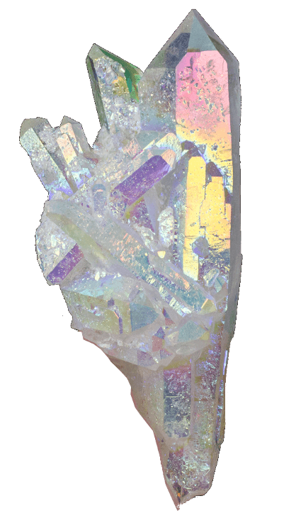 Healing Angel Aura Quartz - Crystal and Stone; Meaning, Properties and Jewelry