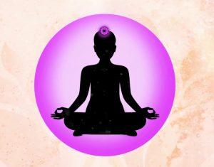 Crown Chakra on Human Body