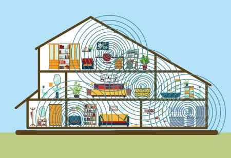 Electromagnetic Pollution at home